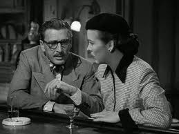 "Leon Ames and Andrea King in ""Dial 1119."""