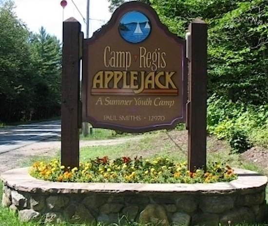 The Gardiner-Doing Camp today, known as Camp Regis-Applejack.