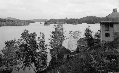 Upper St. Regis Lake, NY. 1906.